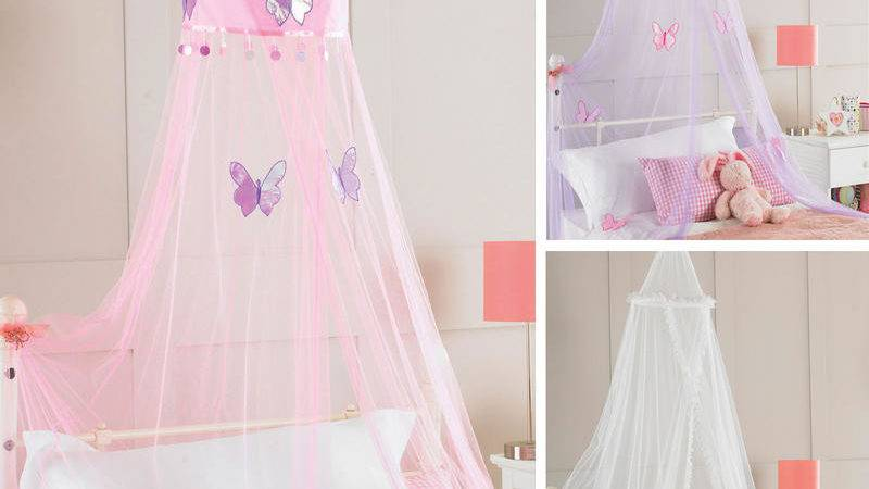 Girls Bed Canopy Bangdodo