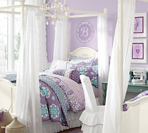 Girls Canopy Bed Madeline Frame