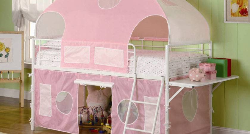 Girls Tent Bunk Bed Beds
