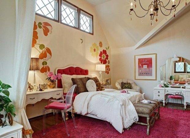 Girly Bedroom Design Ideas Teenage Girls Style