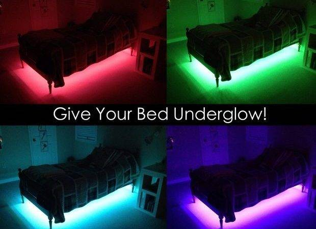 Give Your Bed Underglow Steps