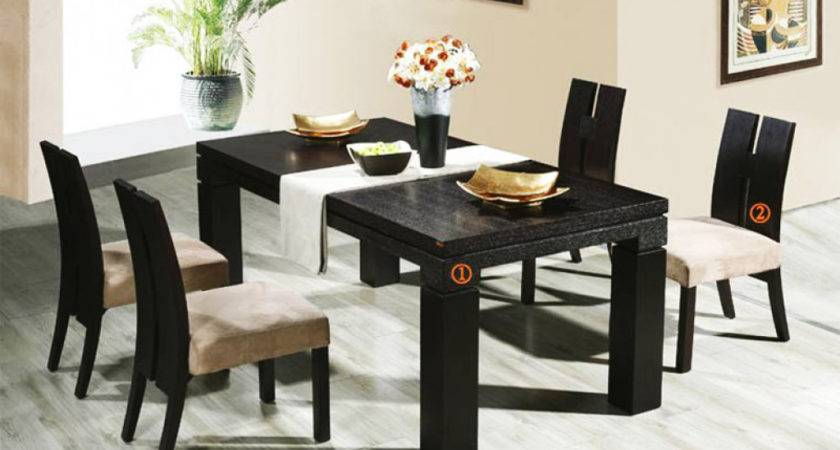 Glamorous Modern Dining Table Chairs