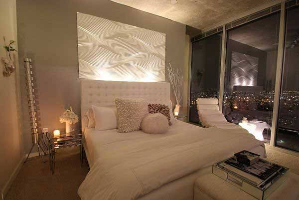 Glamorous White Grey Bedroom Design Amazing City