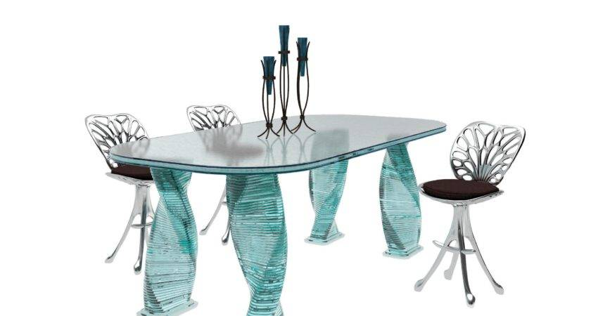 Glass Dining Tables Fancy Mirrors