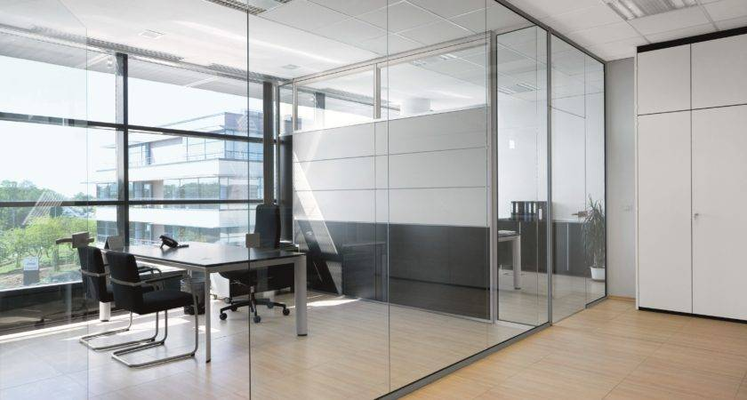 Glass Office Partition Wall Bene Design