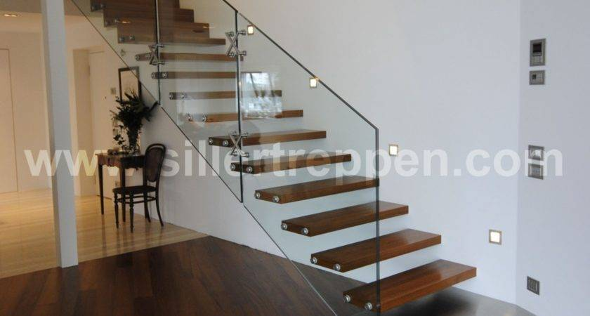 Glass Stairs Staircase