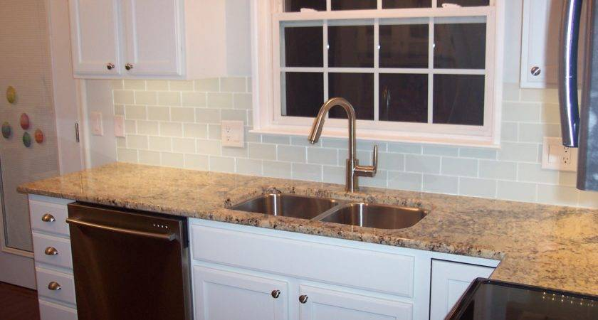 Glass Subway Tile Projects Before After