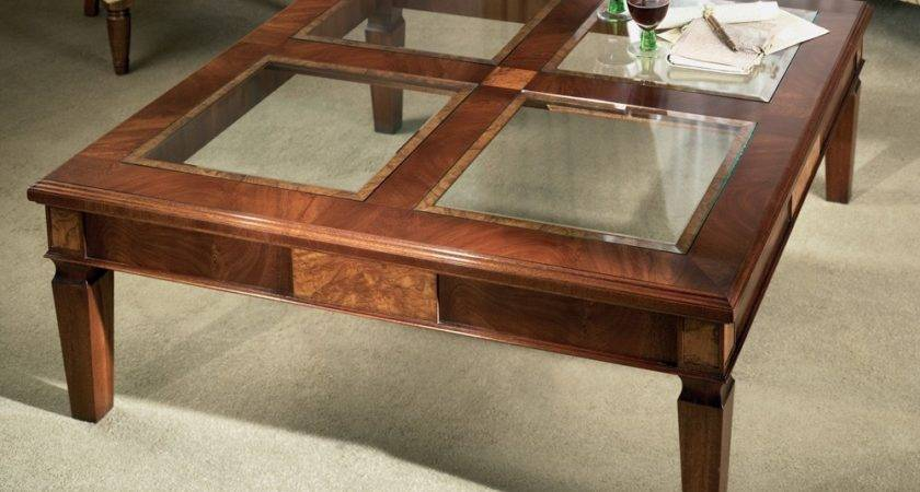 Glass Top Coffee Tables Furniture Mommyessence