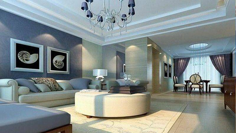 Good Blue Paint Colors Living Room Home Decorating