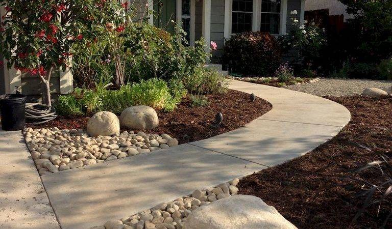 Gorgeous Front Yard Landscaping Ideas Budget Garden