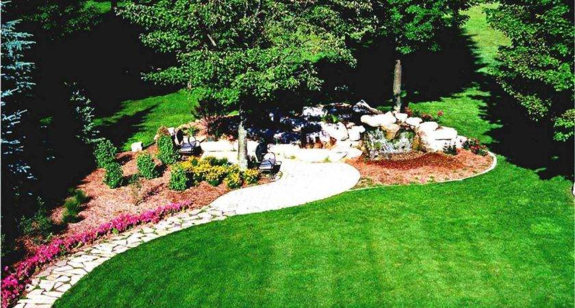 Gorgeous Large Front Yard Landscaping Backyard Landscape