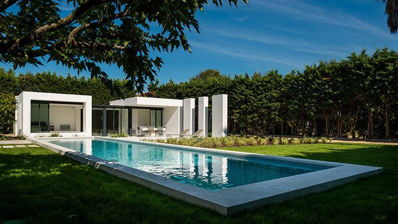 Gorgeous Modern Pool House Basque Country Atelier