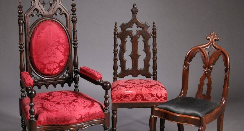 Gothic Revival Side Chairs Bidsquare