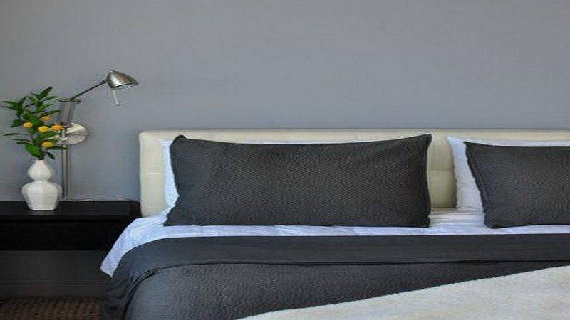 Gray Blue Paint Accent Wall Colors Ideas Taupe