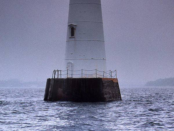 Great Beds Lighthouse Photograph Skip Willits