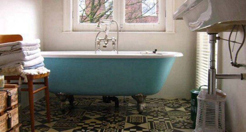 Great Ideas Vintage Bathroom Floor Tile