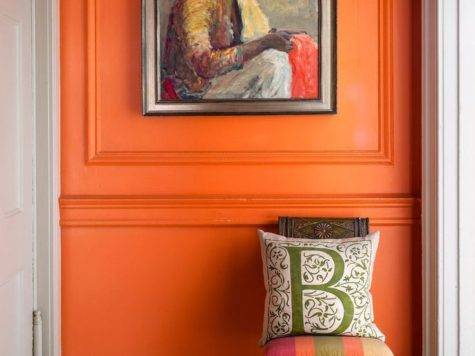 Great Shades Orange Wall Paint Coral Apricot