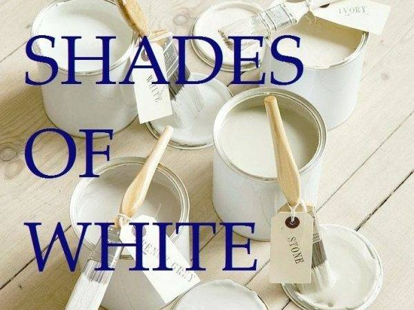 Great Shades White Paint Some Avoid