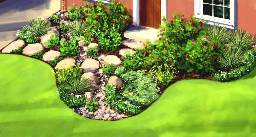 Great Simple Garden Ideas Average Home Homelk