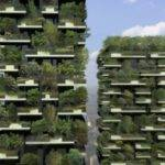 Green Apartments Vertical Forests Sky Called
