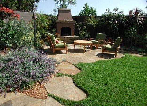 Green Backyard Landscaping Ideas Adding Privacy