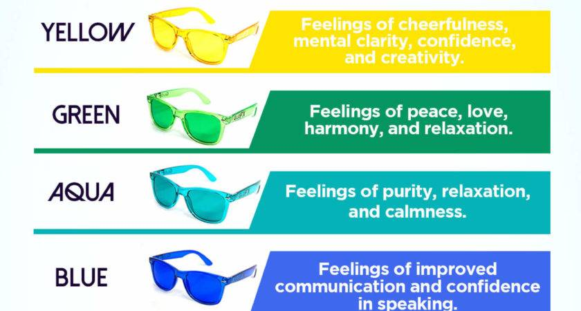 Green Color Therapy Mood Glasses Glofx