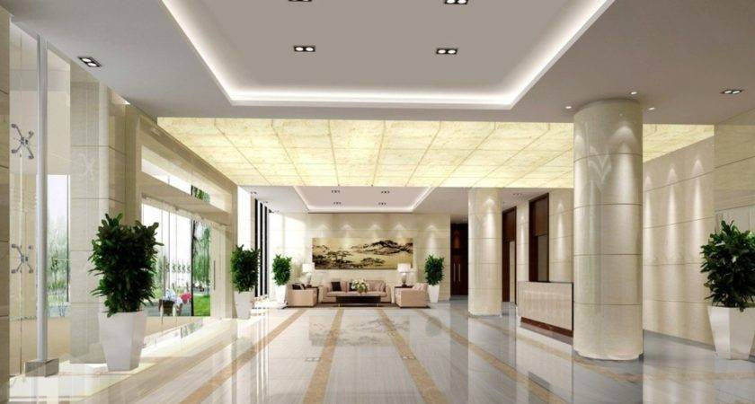 Green Contracted Hotel Lobby Design House