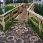 Green Design Ideas Beautiful Wooden Garden Paths