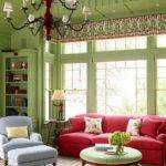 Green Living Room Design Ideas