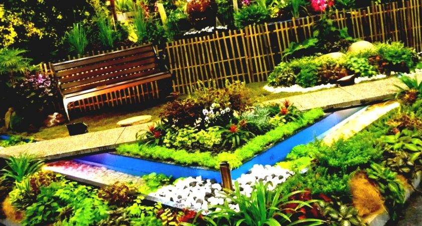 Green Perennial Flower Garden Ideas Spacious Backyard