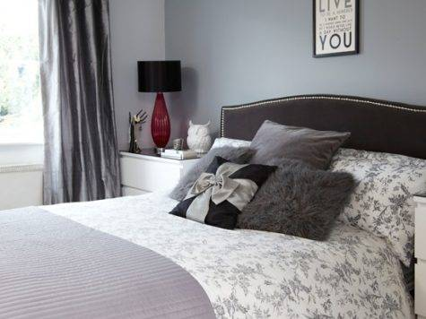 Grey Black Bedroom Decorating Housetohome