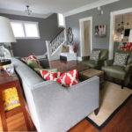 Grey Walls Living Room Just Decorate