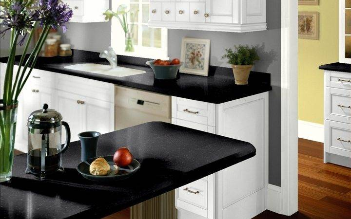 Grey Walls White Cabinets