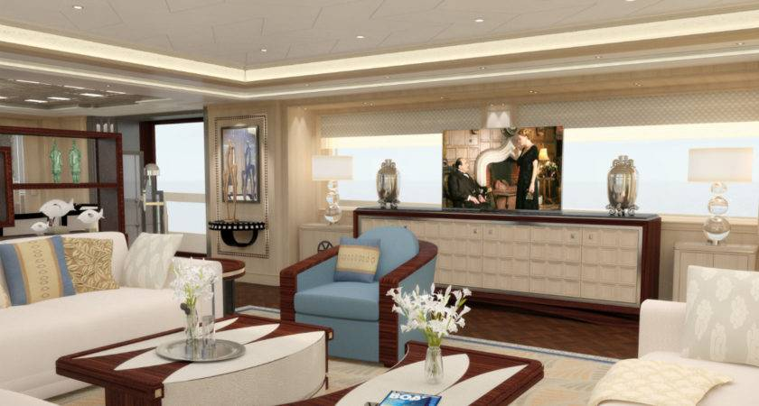 Guido Groot Art Deco Superyacht Interior Design Yacht