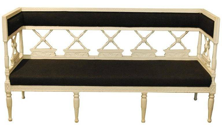 Gustavian Style Swedish Painted Bench Stdibs