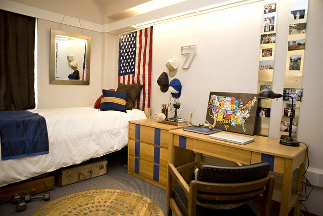 Guy Dorm Room Before After Kara Paslay Design