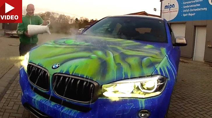 Guy Throws Hot Water His Bmw Happens Next