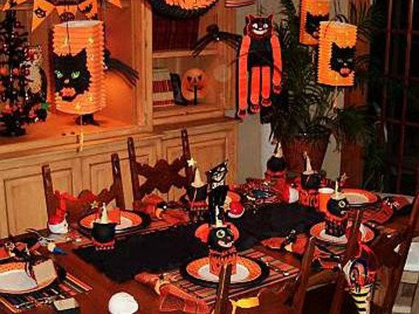 Halloween Party Decorations Ideas Kitchentoday