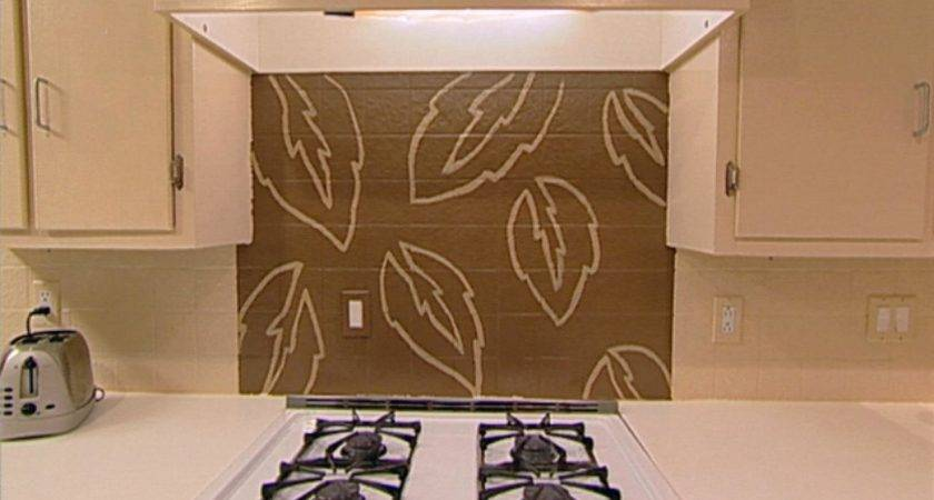 Handpaint Kitchen Backsplash Hgtv