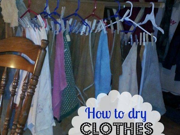 Hang Clothes Inside Dry