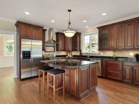 Hardwood Floor Colors Kitchen Dark