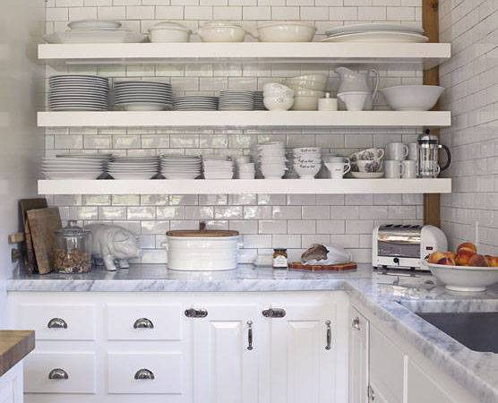Hate Open Shelving These Kitchens Might Convince