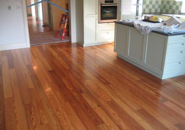 Heart Pine Home Project Traditional Hardwood Flooring