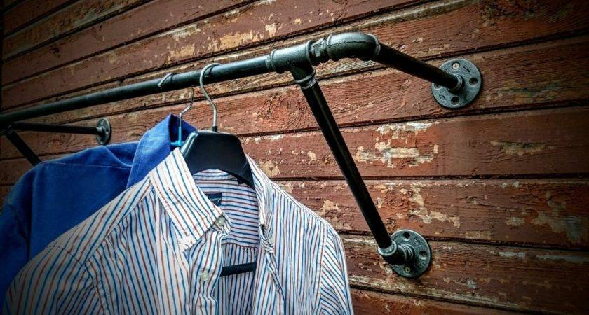 Heavy Duty Wall Mounted Clothes Rack