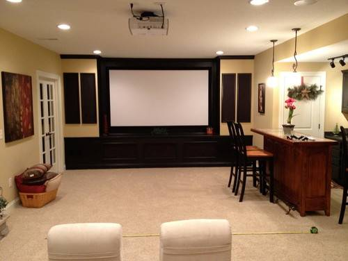 Help Basement Media Room Furniture Layout