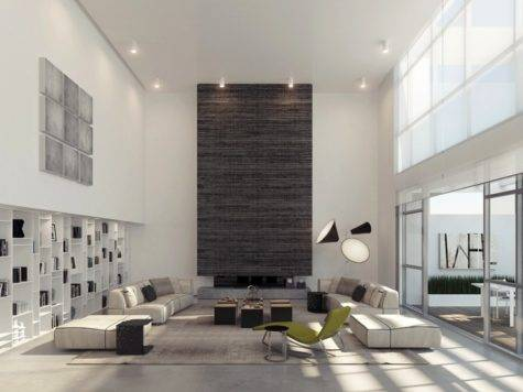 High Ceiling Decorating Ideas