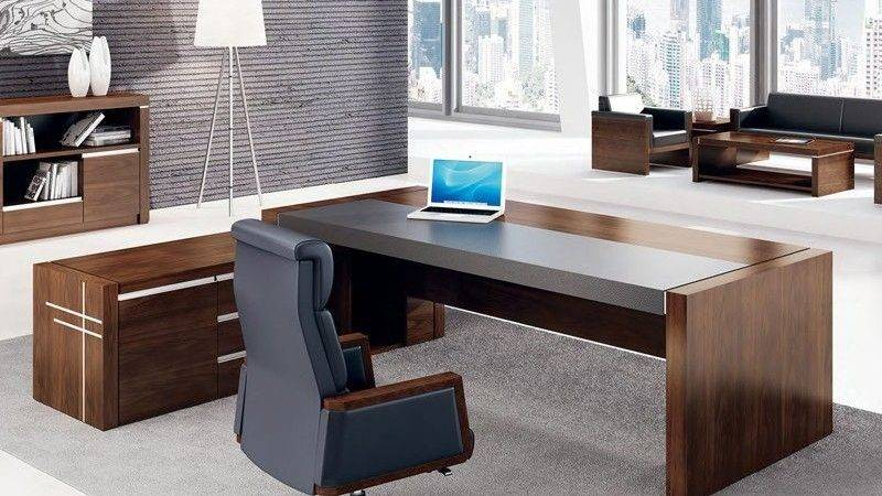 High Gloss Ceo Office Furniture Luxury Table