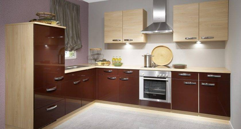 High Gloss Kitchen Cabinet Design Ideas
