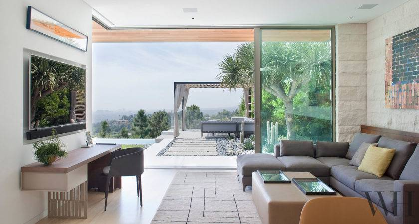 Hillside California Home Gorgeous Outdoor Spaces