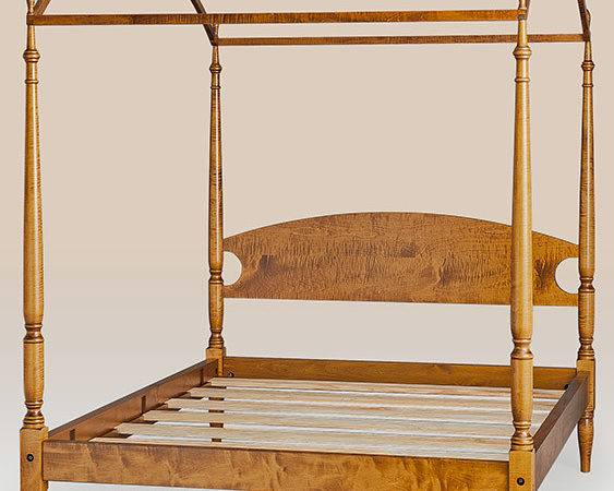 Historical Castle Hill Arched Canopy Bed